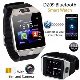 DZ09 Bluetooth Smartwatch With Camera Sim Card SD Card Support For iPhone Android