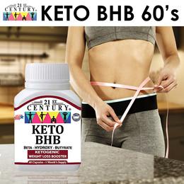 NEW [21st Century] KETO BHB 60 Capsules - Ketogenic Weight Loss Booster