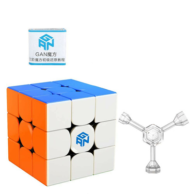 60mm ckground 3x3 Speed Rubiks Cube 3D Puzzle Gear Cube Stickerless Twisty Puzzle for Kids Adult
