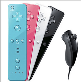 Handle /     wii left and right handle wii handle wii game wireless controller