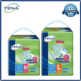 [TENA Official][Free Shipping] TENA Value Adult Diapers