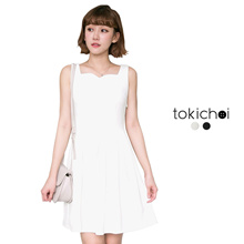 TOKICHOI - Pleated Midi Dress-171945