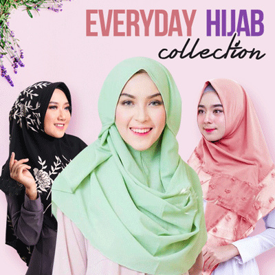 [ BEST DESIGN ] ALL PROMO FOR ALL HIJAB COLLECTION Deals for only Rp25.000 instead of Rp25.000