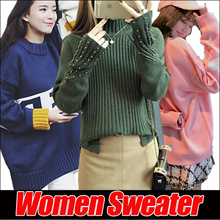 2018 *New Arrival * Winter Sweater Thermal Jacket*Korean version of womens sweaters simple dress