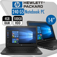 HP 240 G5 Business PROBOOK With Free External DVD Writer | 4GB RAM 500GB HDD | Windows 10 Professional /1 YEAR Warranty|Use Qoo10 Coupon for More Discount
