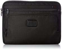 Tumi Alpha Large Laptop Cover, Black, One Size