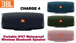 JBL Charge 4 Portable IPX7 Waterproof Wireless Bluetooth Speaker - Original Authentic JBL