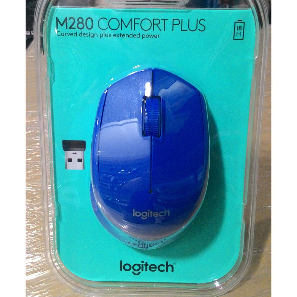 Qoo10 Mouse Logitech Wireless Optical M280 Blue Computer Game Logitec Show All Item Images Close Fit To Viewer Prev Next