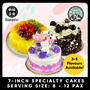 [36% OFF] 7-inch Specialty Cakes! Unicorn cake Tiramisu Chocolate Truffle Oreo Black Forest Mango!