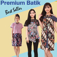 Dress Batik Wanita Modern Batik Fashion Kebaya Bruklat ARLO