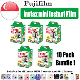 *CHEAPEST* ♥Fujifilm Instax Mini Plain film♥ 100 SHEETS Bundle Polaroid instant film 7s 8 25 90 50s