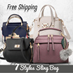 BEST SELLER SLING BAG !!! TAS WANITA - TAS FASHION - SLING BAG - 7 STYLES - MANY COLORS -Free Shipping Jabodetabek