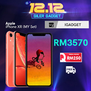 Apple iPhone XR 64GB (Apple Malaysia Warranty)