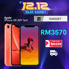 Apple iPhone XR 64GB (Apple Malaysia Warranty)