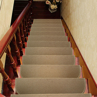 5PCS High Quality Non Slip Staircase Pads Step Mats Stair Carpets Treads  Protect Staircases From Scr