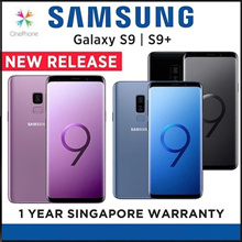 Samsung Galaxy S9 / S9 PLUS | 1 Year local Samsung warranty.