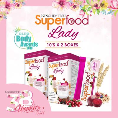 7aba5e8c1f76 SUPERFOOD+ LADY SACHET 10s x 2  22 Multigrain FruitsnVeg   High in Calcium  Iron