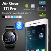 [For Him]Airgear T11 Pro 1.2inch Touch Screen Round Shape Bluetooth Sim Card Capactive Touch Panel Smartwatch