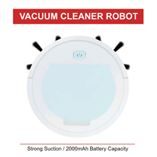 3 in 1 Rechargeable Smart Clean Sweeping Robot Vacuum Cleaner Floor Sweeper Strong Suction Portab