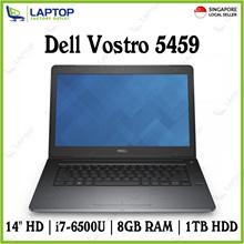 """{NEW} DELL VOSTRO 5459 (i7-6500/8GB/1TB/Win10 Pro/14""""HD)"""