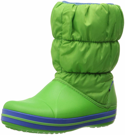 9bc16f21b39ab Qoo10 - Crocs Kids Winter Puff Boot (Toddler Youth) Snow   Kids Fashion