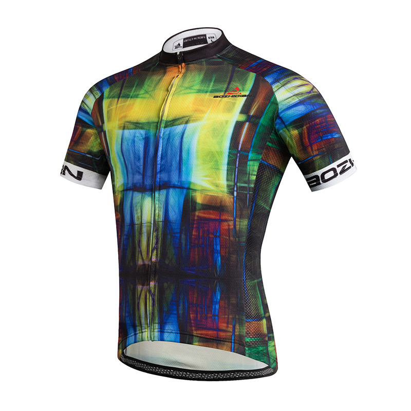 1110057ce3c Qoo10 - Custom Design Summer Cycling Jersey Short Sleeve Men/ Women ...