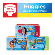 HUGGIES Little Swimmer Pants - S / M / L sizes