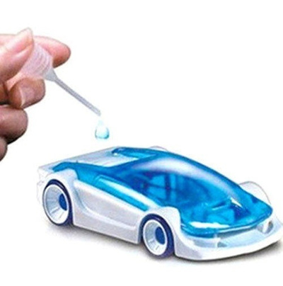 Hot Top New Creative Kit Green Energy Toys Salt Water Fuel Cell Car DIY  Kits Educational Learning To