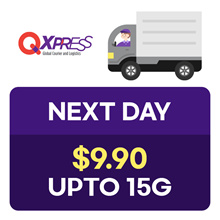 Qdelivery Service Voucher [Value S$ 9.9 / Up to 15 kg]  Only for Local Delivery (Singapore)