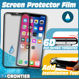 [CRONTIER]6D Full Screen Tempered Screen Protector Film★For iPhoneX