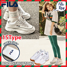 [FILA] [Buy Get Free Gift] ♥100% Authentic♥ FILA RAY Couple Shoes / Sneakers /DISRUPTOR 2