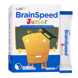 LAC Brain Speed® For Junior (30 sticks) [Multivitamin/Vitamin/Kids/Children Nutrition/Supplement]