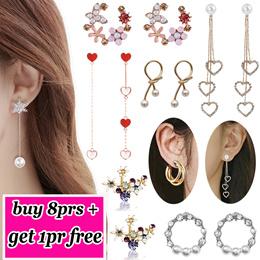 2019 Latest Korea Fashion Jewellery Earrings/ Trend Popular Women Earrings/ Studs/ 300 Styles