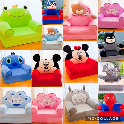 Qoo10 Kids Cartoon Sofa Furniture