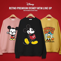[RETNO x HOWDY] Disney Authentic Long Sleeve T-Shirt 26 Designs / FLAT PRICE!! / Sweatshirts / Trave