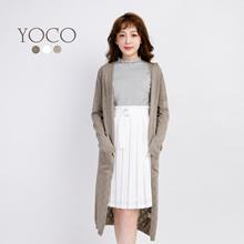 YOCO - Stitch Cut-out Cardigan-171634-Winter