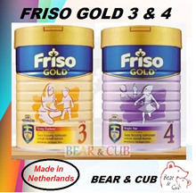 900g Friso Gold (Stage 3-4) Milk Powder ★MADE IN NETHERLANDS FOR MALAYSIA★