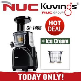 ★HOT DEAL!!★ NUC(Kuvings) Galaxy Silent Juicer Slow Extractor GJ-140S 110S / WSJ-962K WSJ-972K