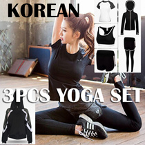 【Korea 】3 pcs Yoga Set / Sports bra / Running Attire Lowest price Runing set sports bra+pants+Tshit