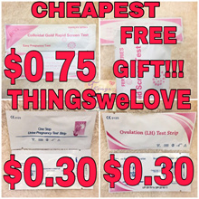 TWL [FREE GIFT] HCG Pregnancy Ovulation Test Kit Ultra Early 10 miu LH Urine Stick Strips Accurate