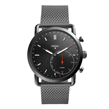 FOSSIL Q COMMUTER DIGITAL FTW1161 GUNMETAL UNISEX SMARTWATCH