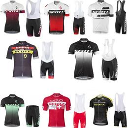 2019 short sleeve cycling jerseys cycling new SCOTT summer cycling suits bike bike