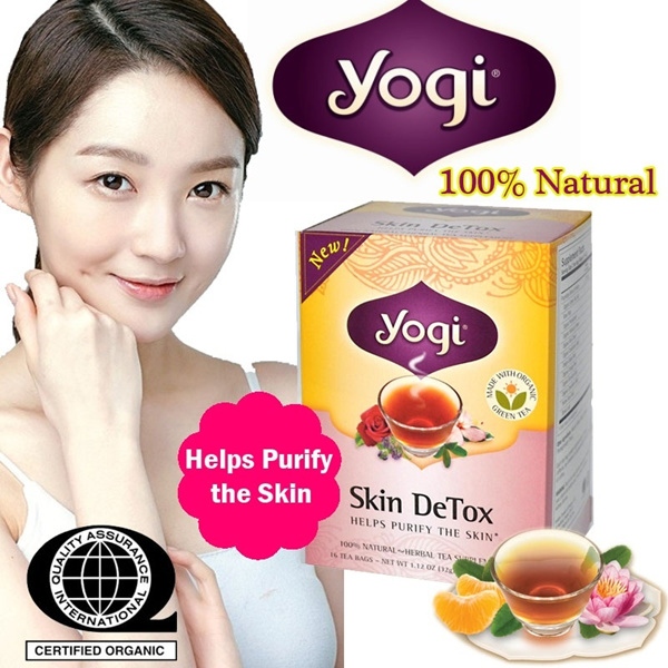 100% Natural Healthy Nutritious Yogi Tea bags with free Caffeine #Free Shipping# Detox / woman nursing / skin detox / calming / stress relief / woman moon cycle Deals for only S$19 instead of S$0