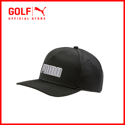 PUMA GOLF Accessories Unisex Youth Go Time Snapback - Black ☆ FREE DELIVERY  ☆ AUTHENTIC 25c846f8666b