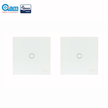 NEO Coolcam 2pcs/lot NAS-SC01ZE Smart Home Z-Wave Wall Light Switch Compatible with Z-wave 300 serie