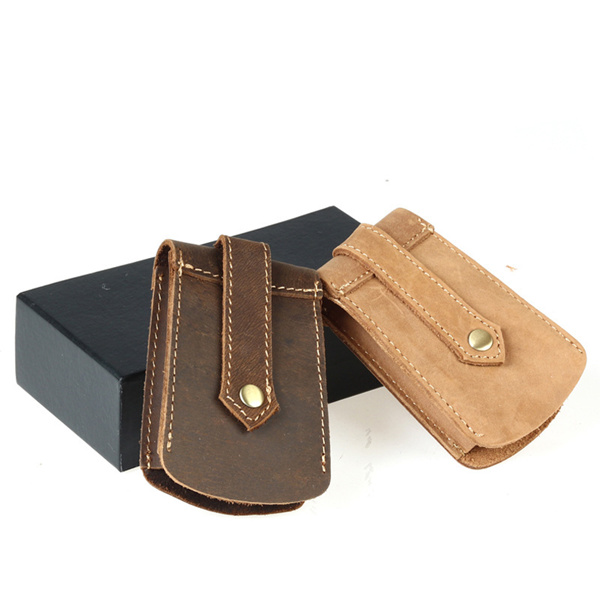 Key Holder Bag For Men Genuine Cow Leather Retro Crazy Horse Deals for only S$21.9 instead of S$21.9