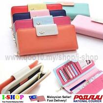 Korean Sweet Wallet/Purse/Card Holder/Organizer/Phone Pouch/Samsung S3 S4 Note 2 Iphone Case