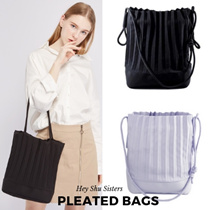 ★BUY 2 FREE SHIPPING★Pleated Bags★2019 must have★Neispace inspired bags★
