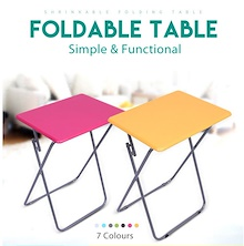 Colorful Foldable Table Portable Picnic Study Camping Outdoor Coffee Desk