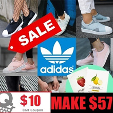 [ADIDAS] MAKE $ 57 / 2018 NEW Superstar Slip on/Casual Sneakers/100%AUTHENTIC/13 Types